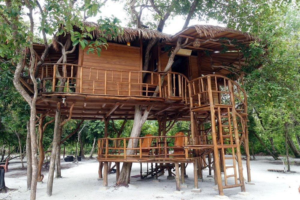 Belitung Leebong Island Treehouse