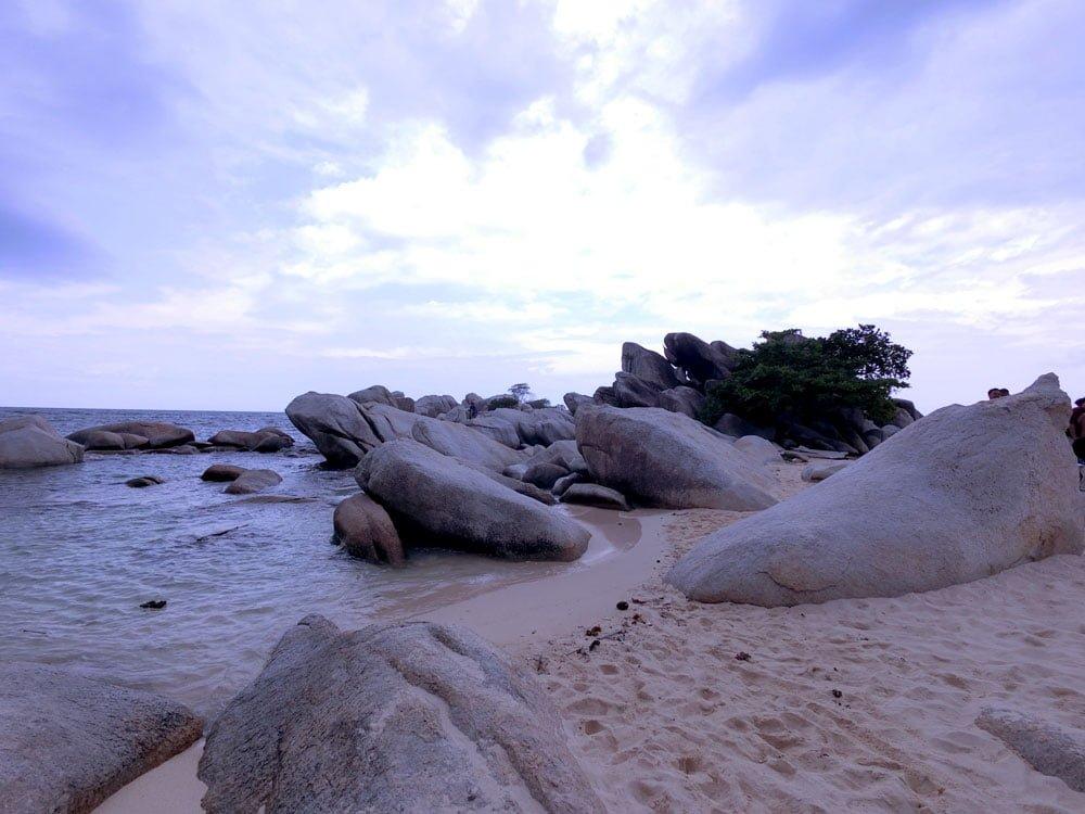 Belitung Lengkuas Island Rocks Beach