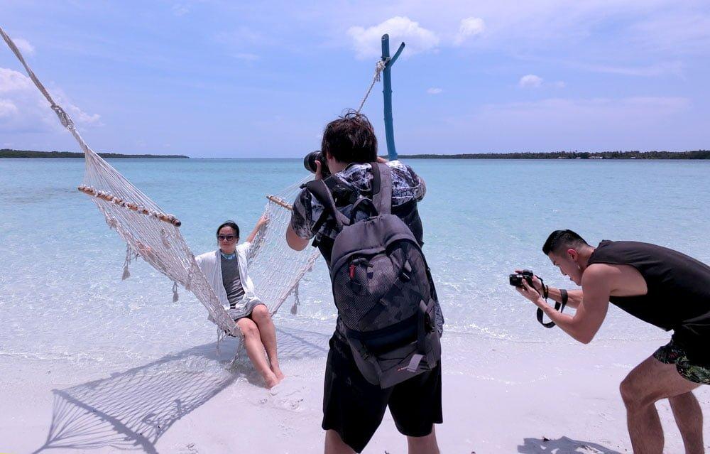 Belitung Sandbar Island Hammock Me Photogs