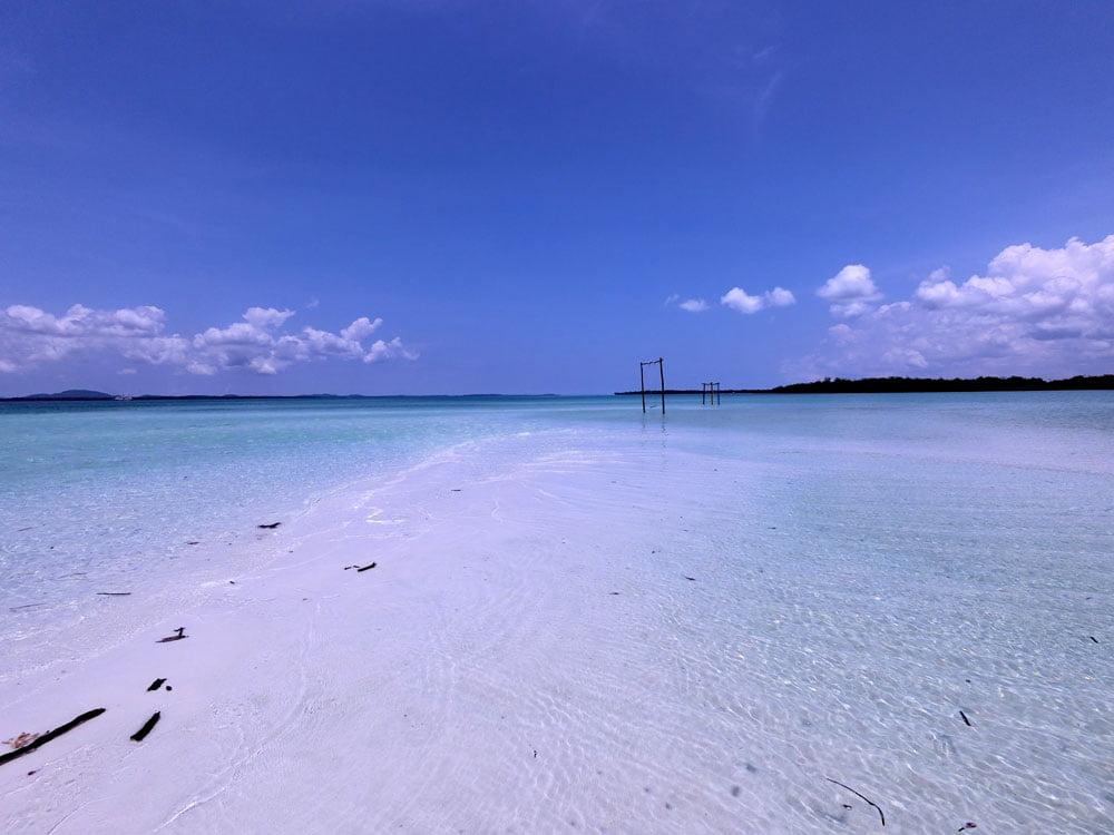 Belitung Sandbar Island