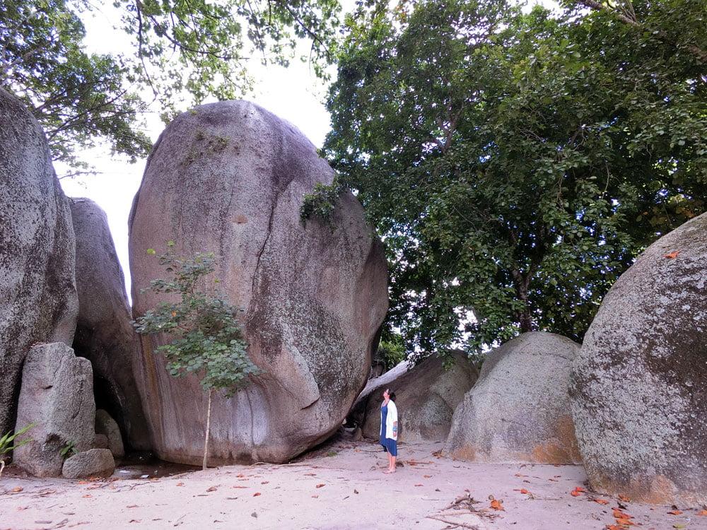 Belitung Tanjung Tinggi Batu Papaya Me