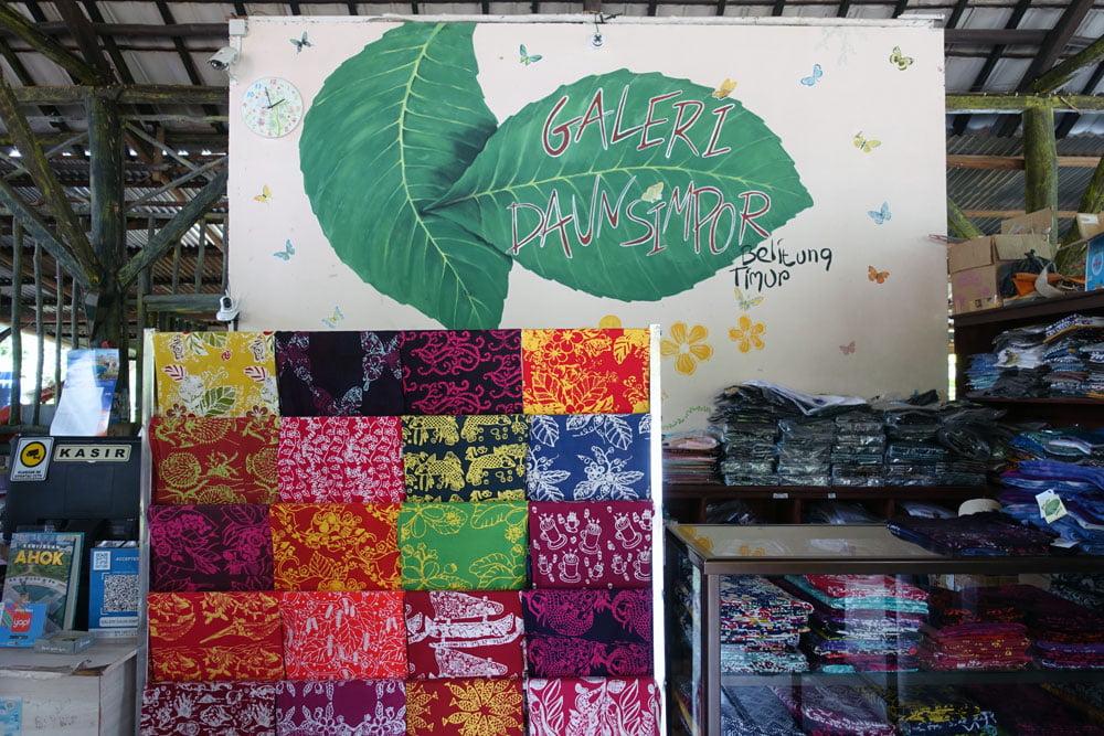 Belitung Galeri Simpur Batik