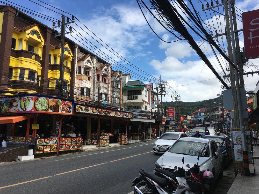 Karon Town Street