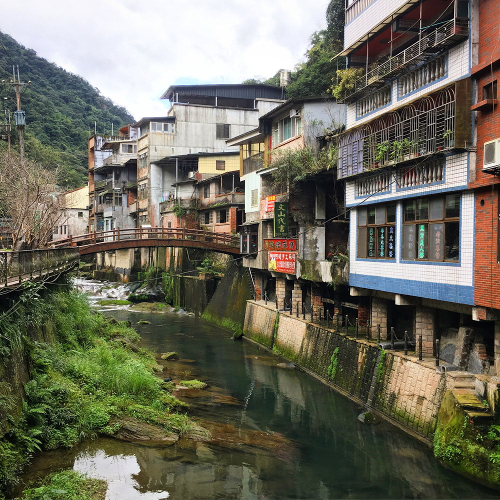 Shiding Old Street Hanging Houses
