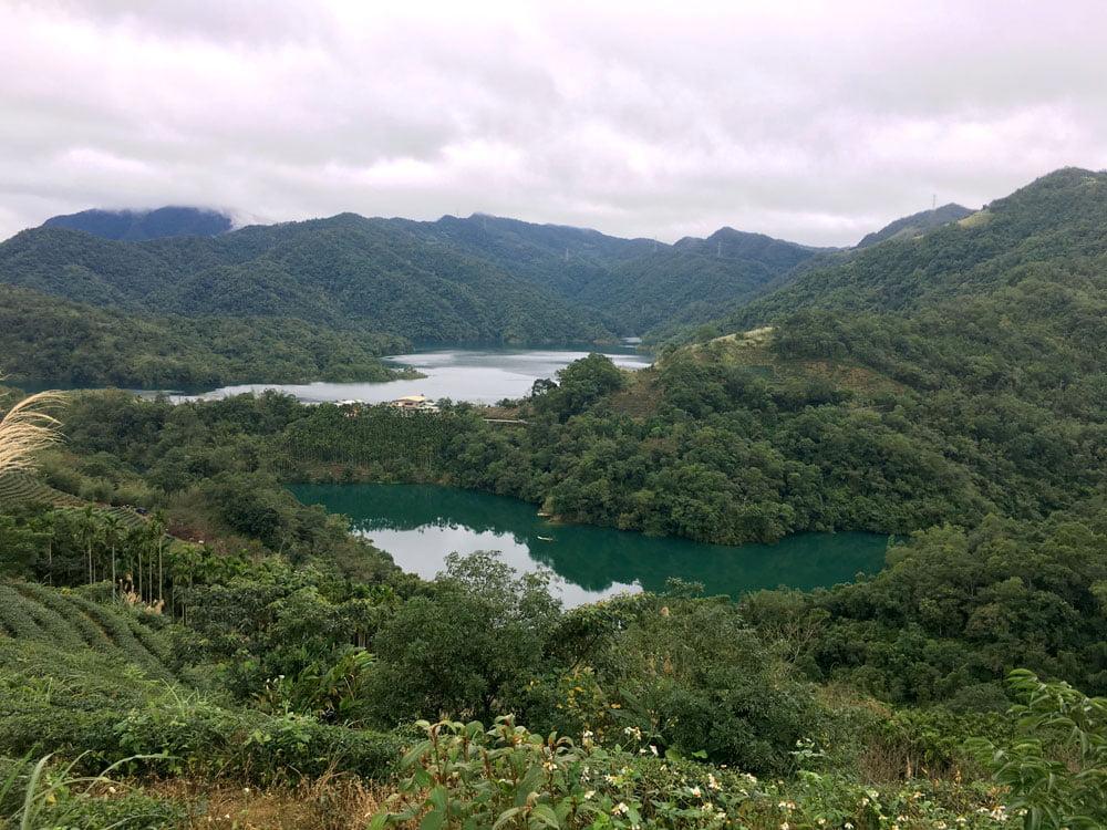 Shiding Thousand Island Lake Bagua Viewpoint