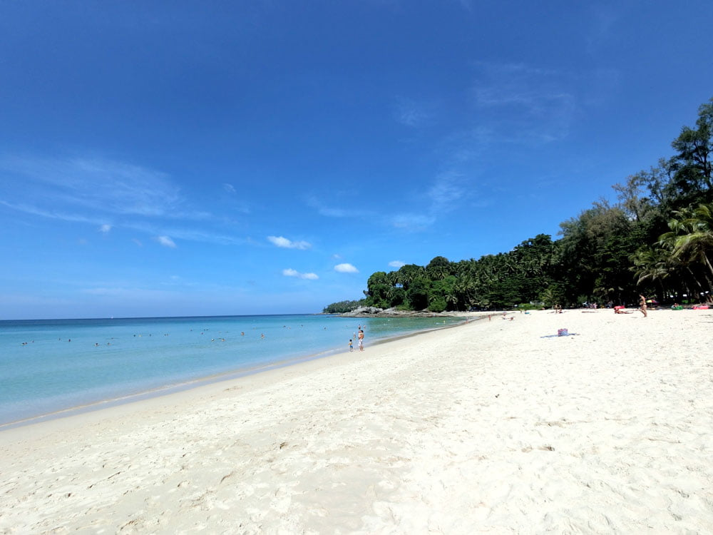 Surin Beach Sand