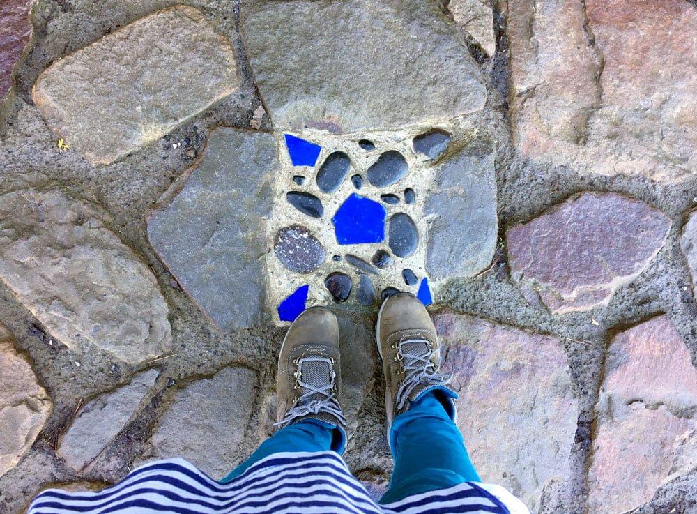 San Juan de Gaztelugatxe Path Blue Stone