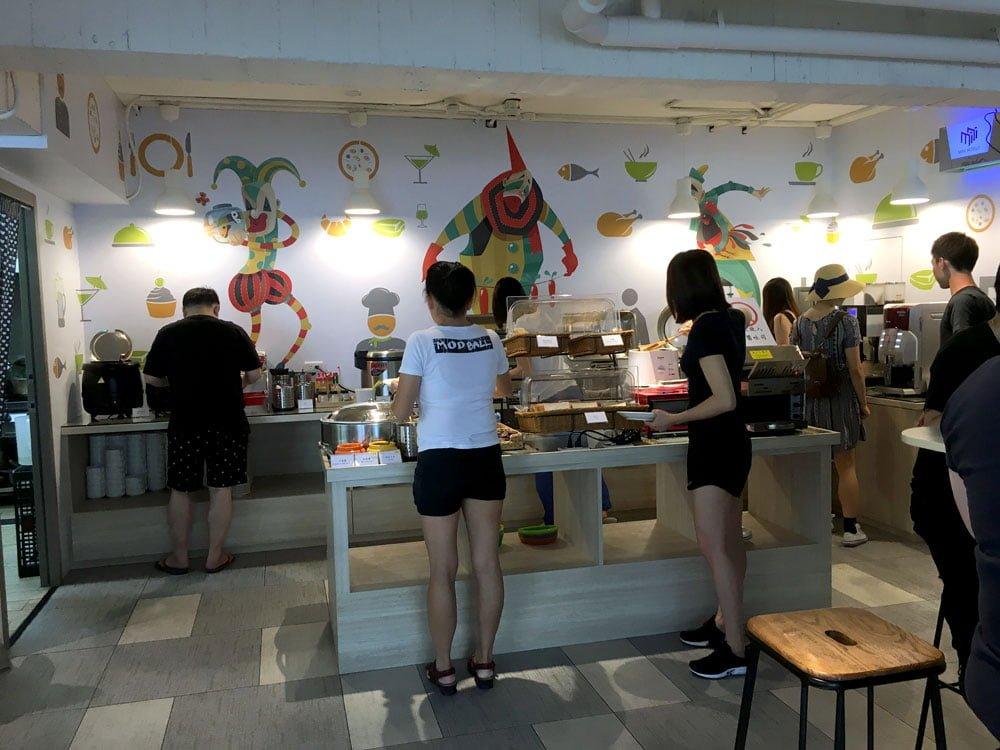 Taichung Mini Hotel Dining