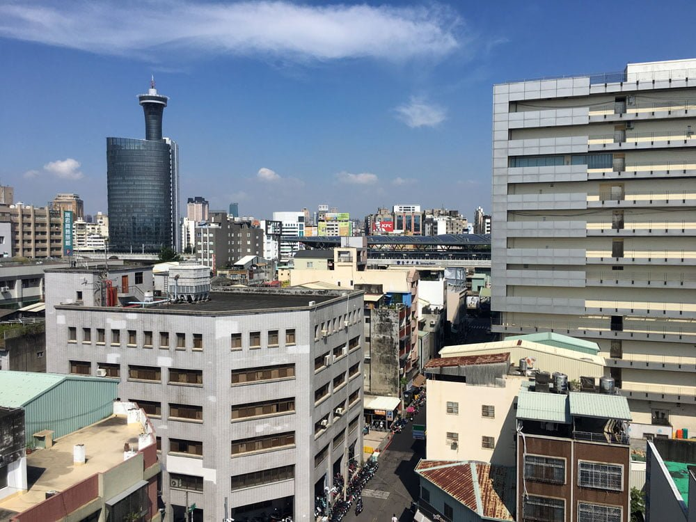 Taichung Mini Hotel Rooftop View