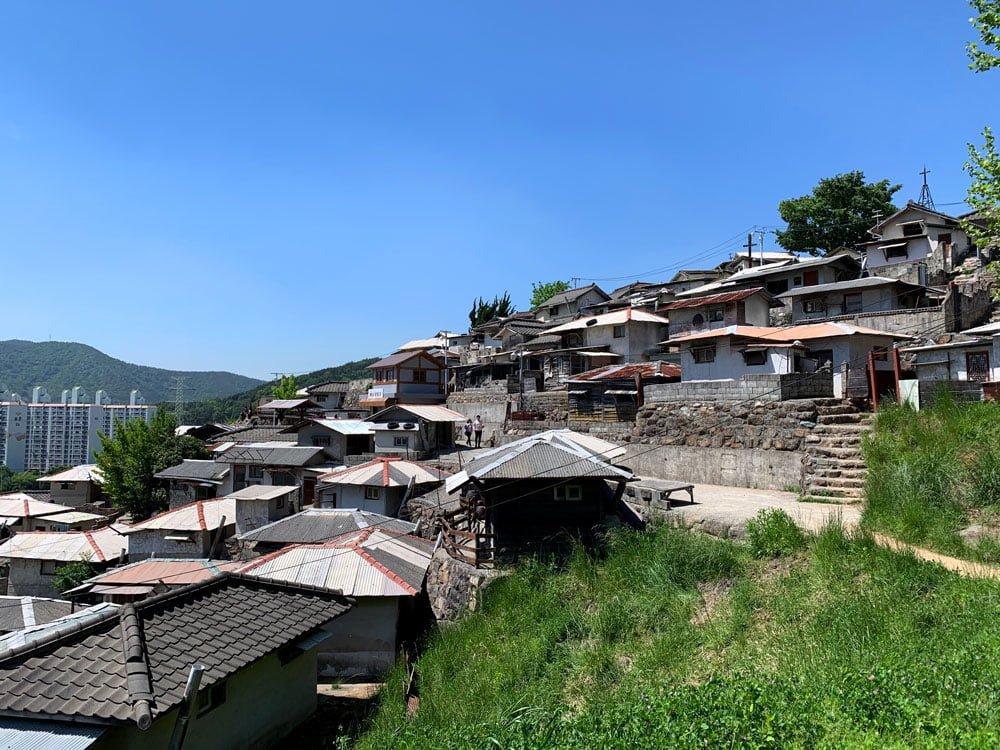 Suncheon Drama Film Set Hillside Houses