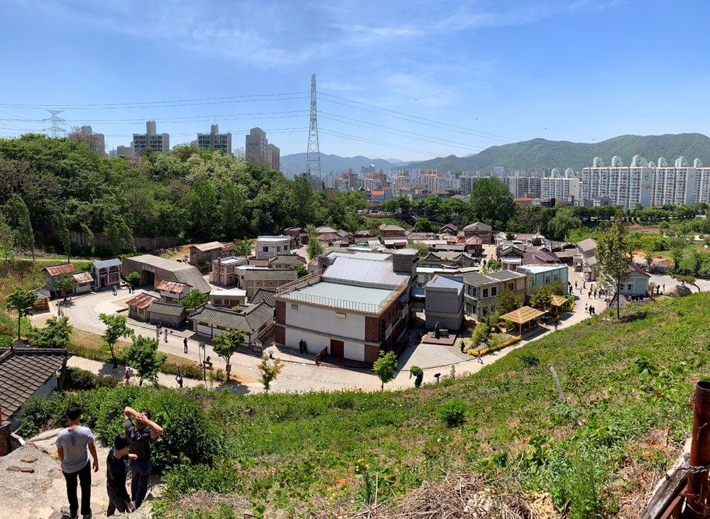 Suncheon Drama Film Set Town Aerial