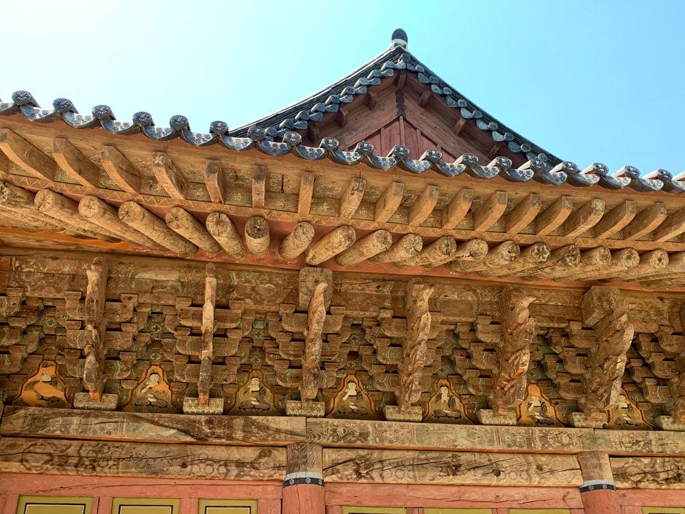 Suncheon Seonamsa Roof Faded