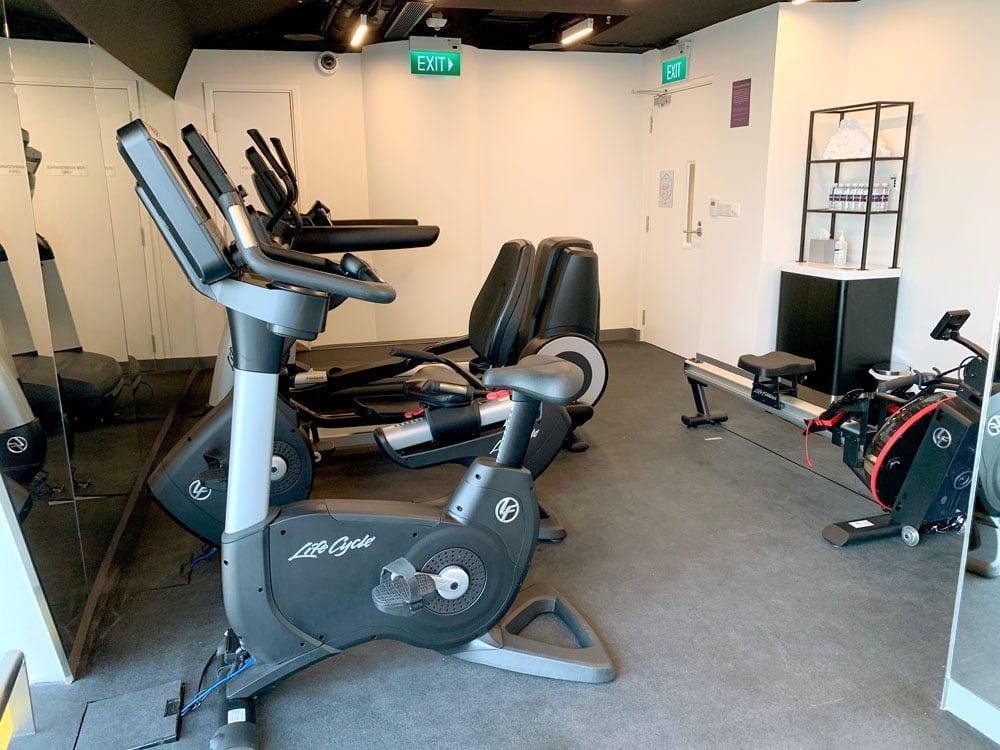 YotelAir Jewel Gym 1