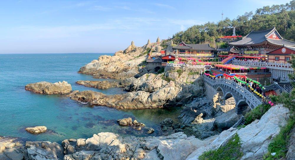 Busan Haedong Yonggungsa Sea View