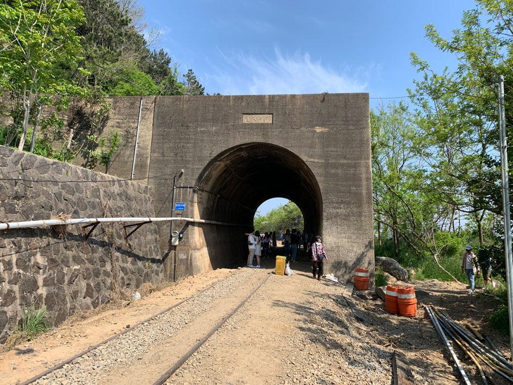 Busan Mipo Tracks Tunnel