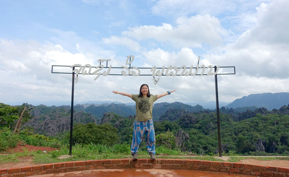 Laos Na Hin Limestone Forest Sign Me