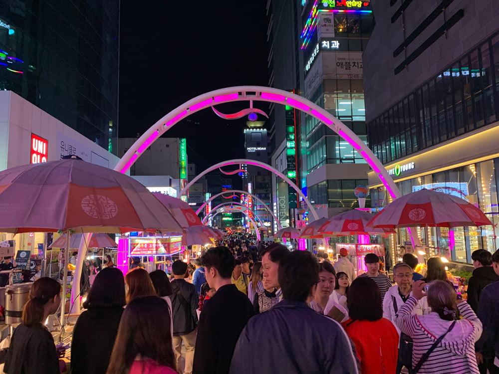 Busan Nampodong BIFF Square Night
