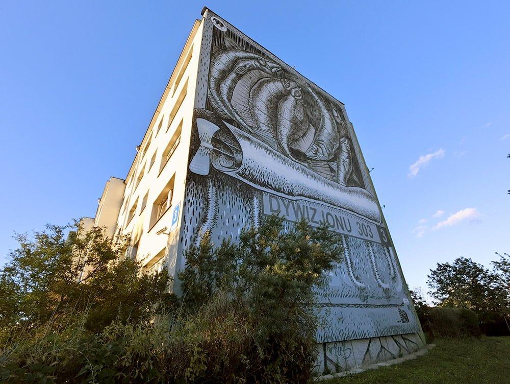 Poland Zaspa Street Art Emil Gos