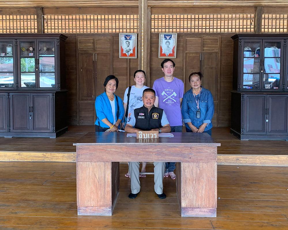 Sukhothai Sawankhalok Old Police Station Group