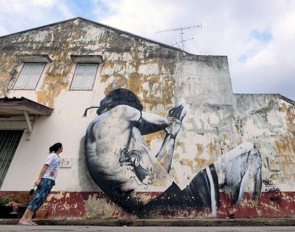 Sukhothai Sawankhalok Street Art Ceno2 Me