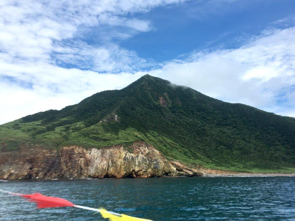 Guishandao 401 Peak From Boat
