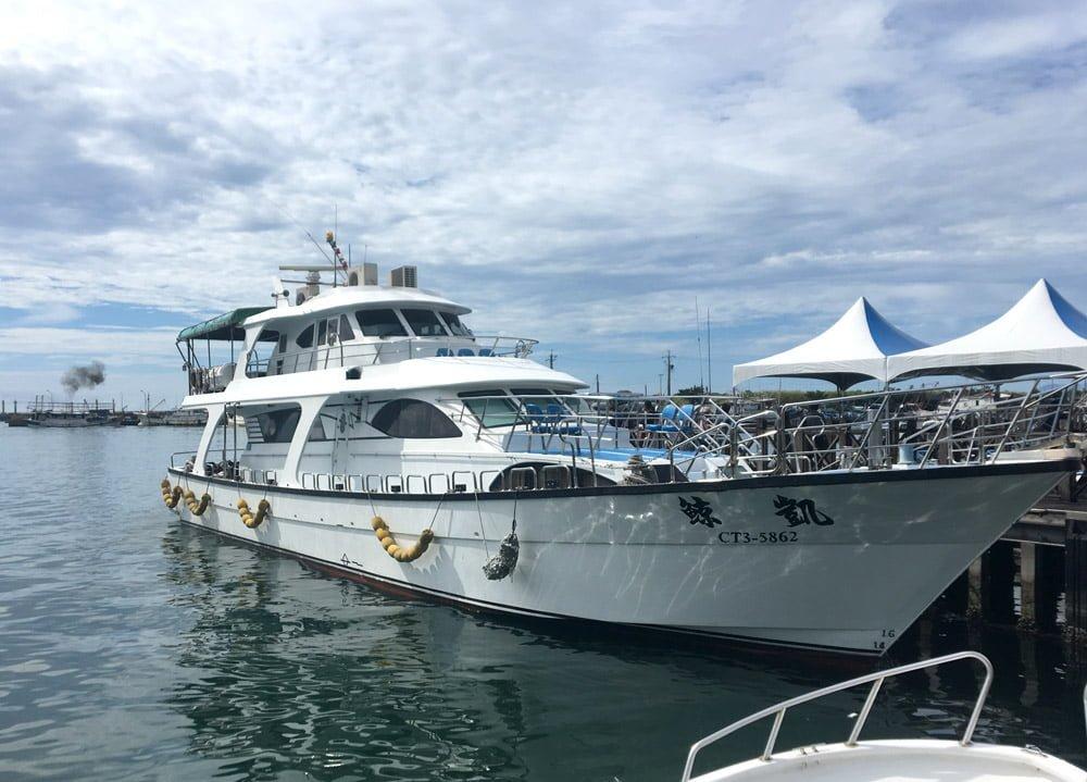 Guishandao Wushi Harbour Boat