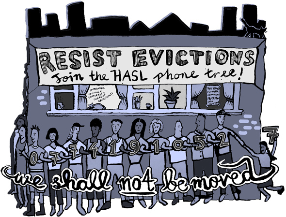 Keeping up the fight against evictions in London