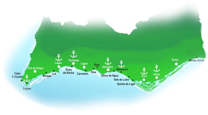 Ocean Week Sailing Algarve Route