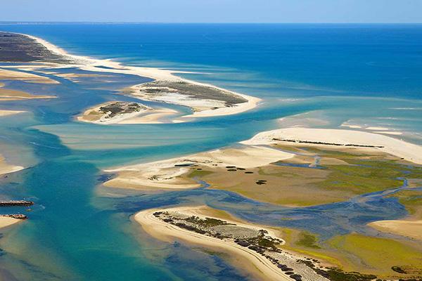 Sandy Islands Faro olhão Sailing explore yacht portugal