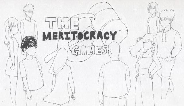 Meritocracy - Illustration by Roger Ko