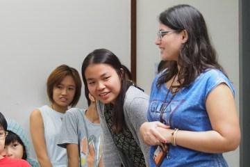 The KidsAccomplish leadership team organise a seminar.