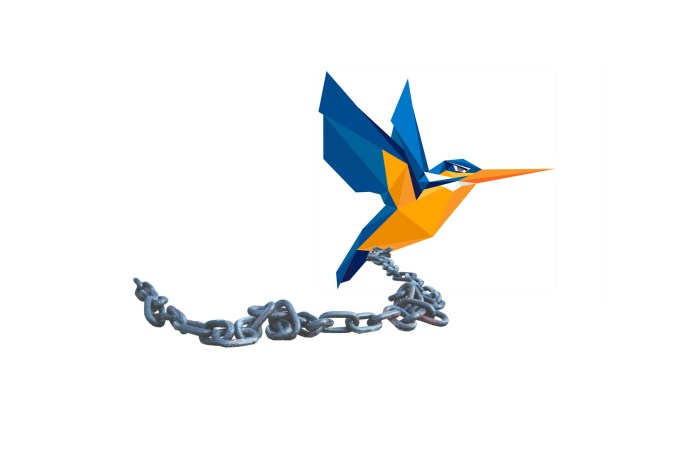 A Kingfisher is chained to the ground by the tuition grant scheme (TGS).