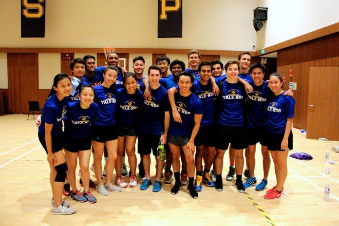 My favorite moment from the entire tournament was the Captain's Ball finals. It was Yale-NUS Team A versus Yale-NUS Team B. Good things came to those who wait, and needless to say, revenge was sweet.