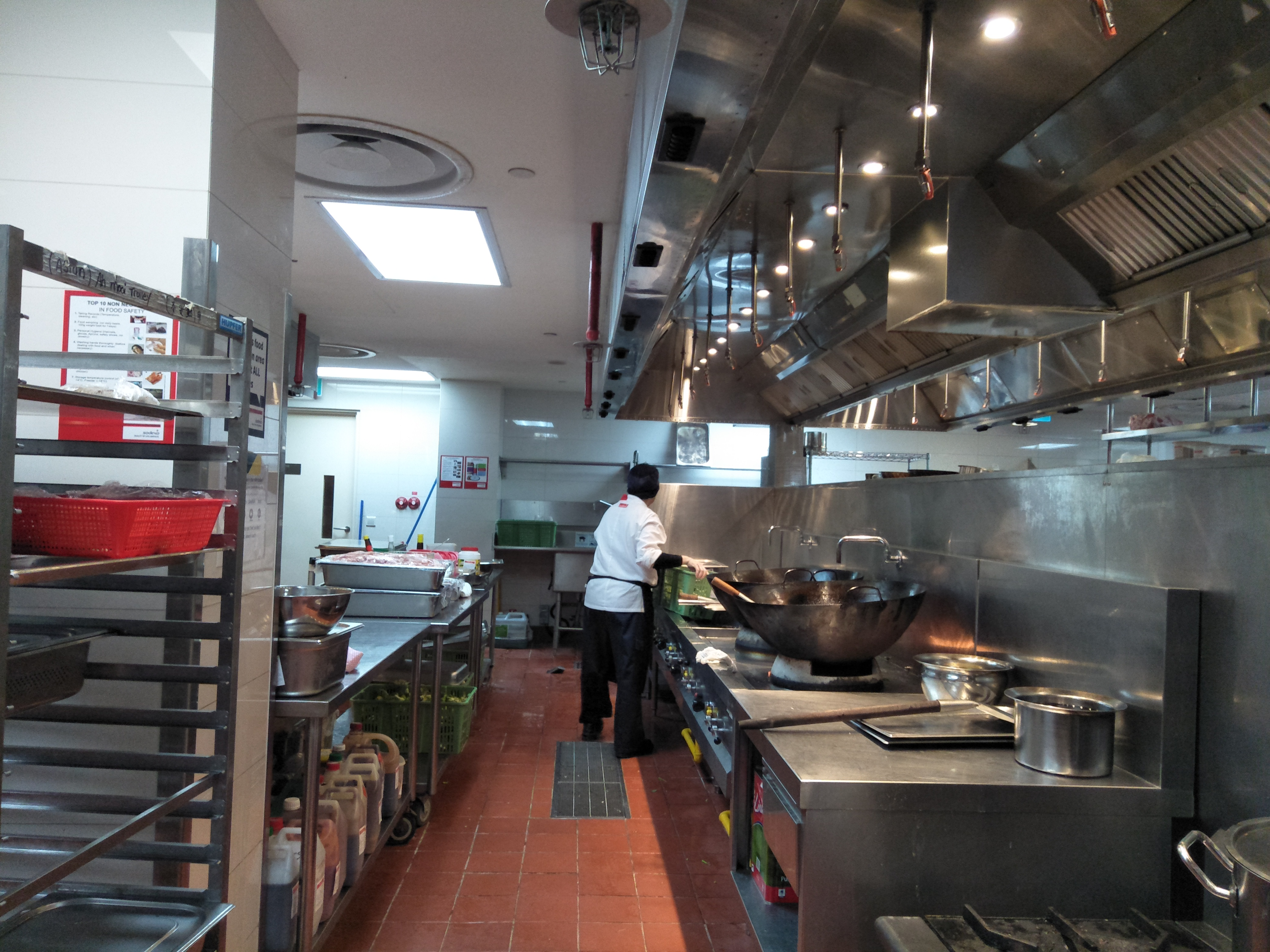 Sodexo's investigation of food poisoning claims finds themselves not to blame