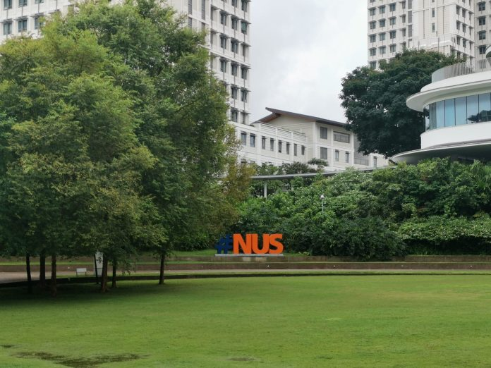 Picture of UTown with Yale-NUS in the background