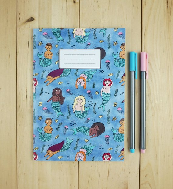 EmSeeltch Mermaid notebook