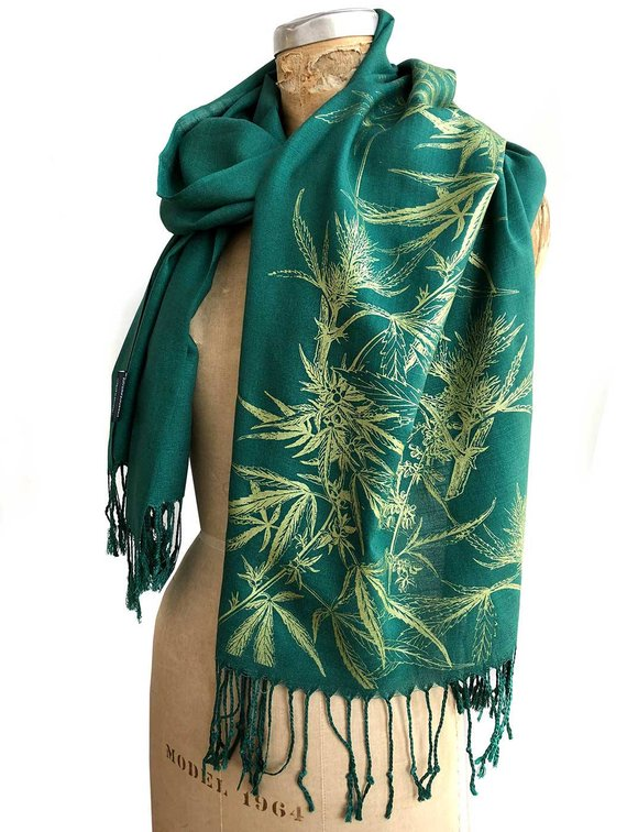 cannibis scarf