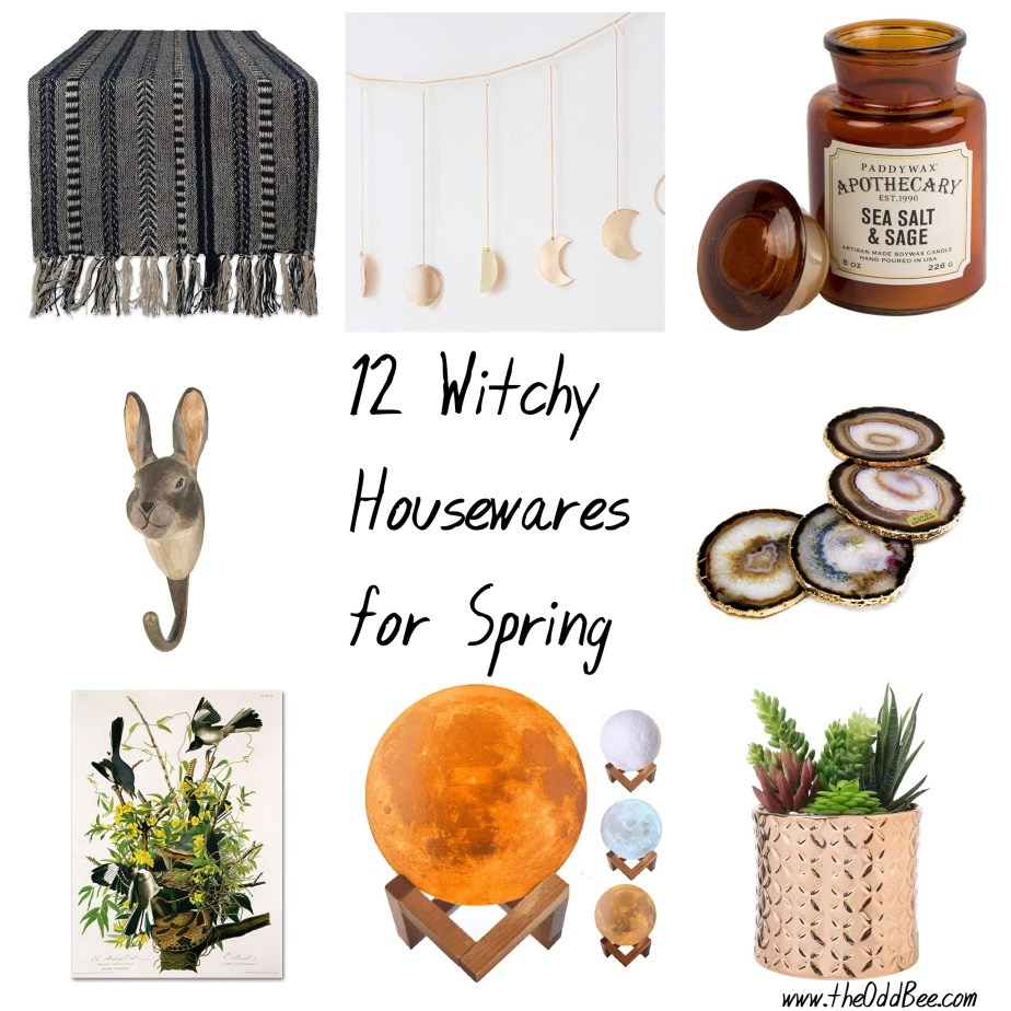 witchy spring housewares