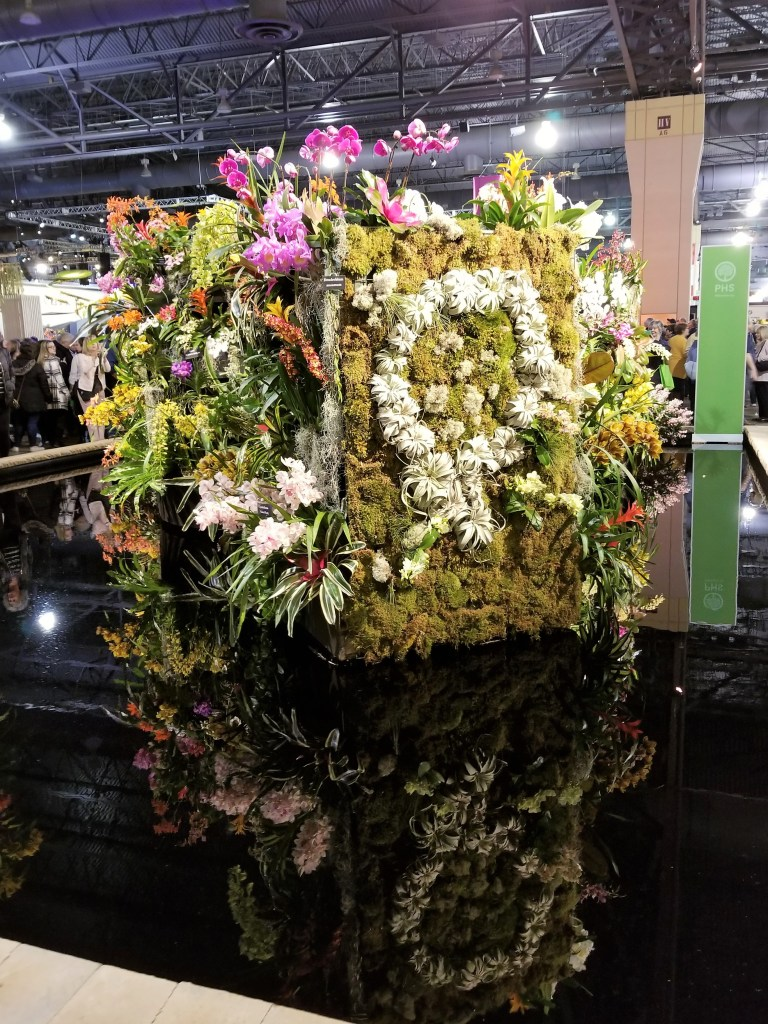 display at the philadelphia flower show