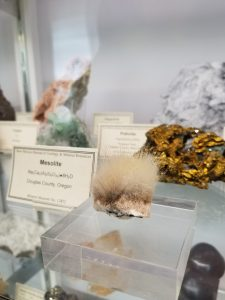 mesolite at New Mexico Bureau of Geology Mineral Museum