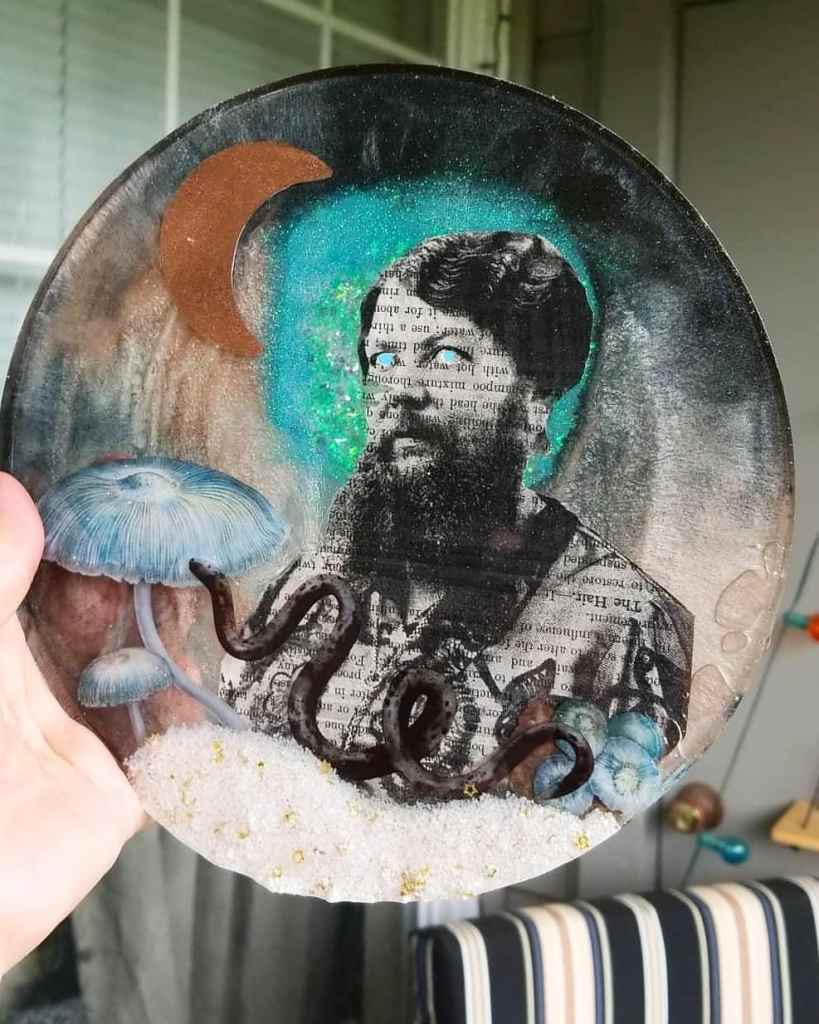 resin art of Clémentine Delait