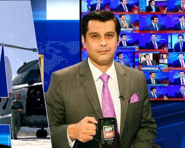Indian Govt urges Twitter to remove Anchor Arshad Sharif's account