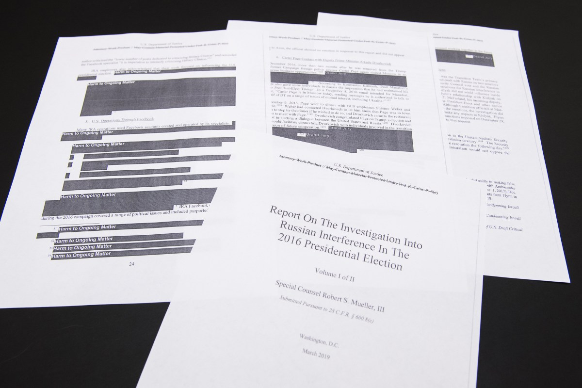 Reading the Mueller Report: Part 3, The Leaks