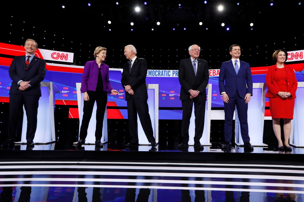 Don't fall into the Electability Trap
