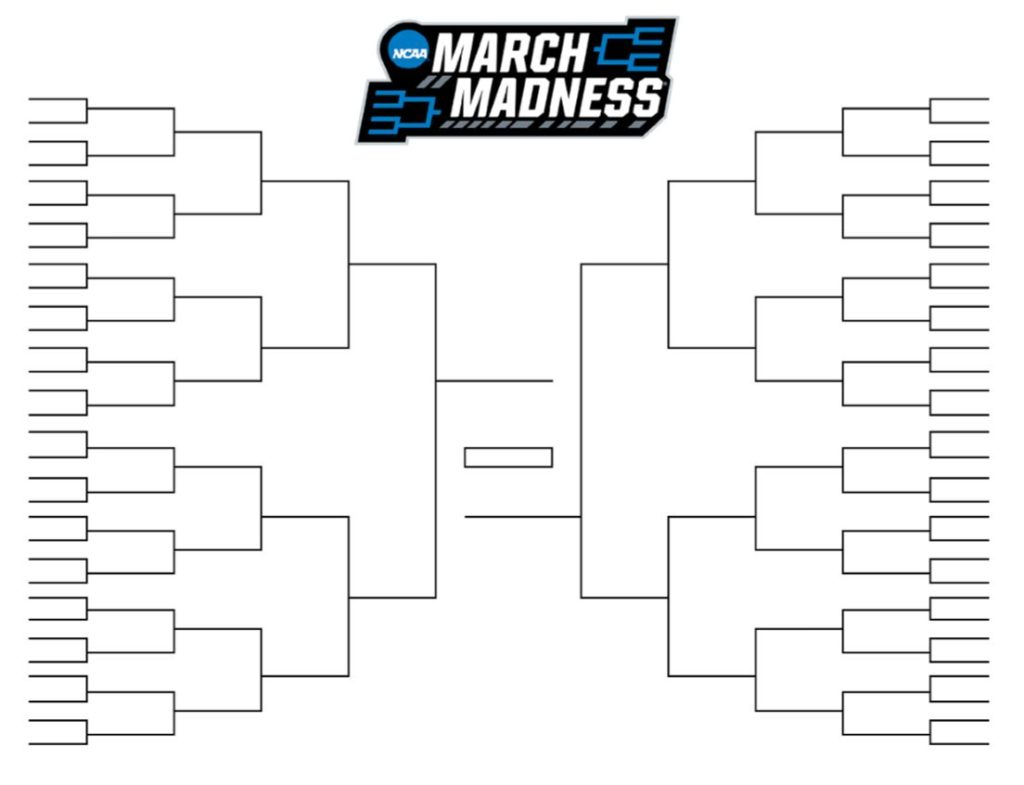 free ncaa tournament bracket pool for   from the