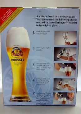 Erdinger Classic Beer Serving Method