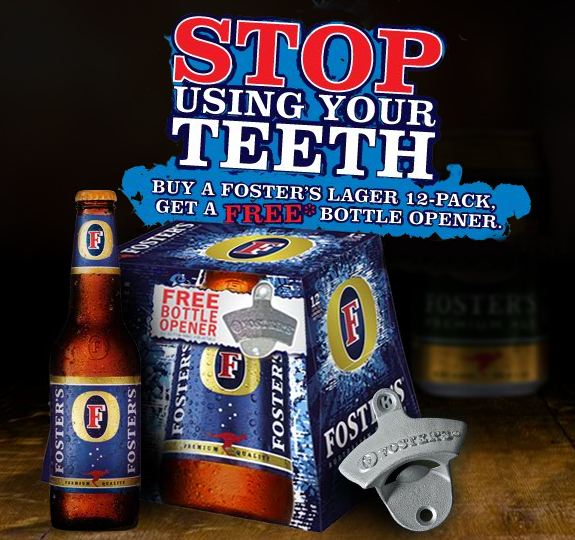 Foster S Beer Promotional Products Theodmgroup Blog