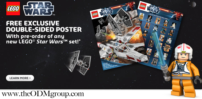 LEGO Gift with Purchase Promotional Star Wars Poster | TheODMGroup Blog