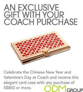 Corporate gifts by coach singapore gift with purchase promotional coach reheart Image collections