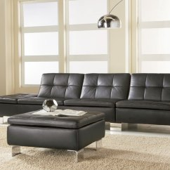 Modern Square Sofa Leather Repair Large Tear W. Schillig | Theodores